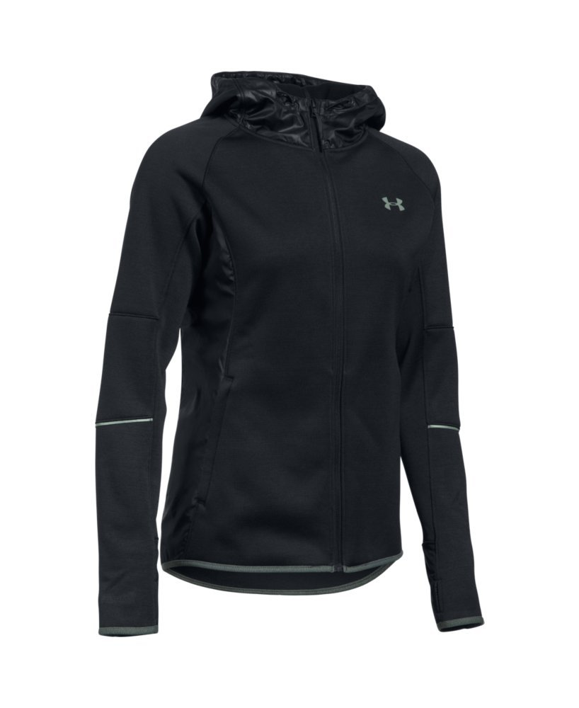 Under Armour Women's Storm Swacket Full Zip, Black/Black, Large by Under Armour (Image #4)