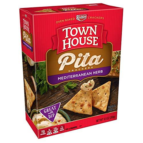 Keebler, Town House Pita, Crackers, Mediterranean Herb, 9.5 oz