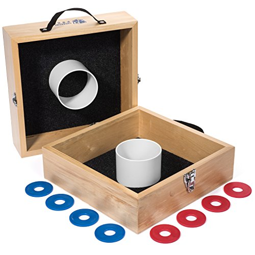 Tailgating Pros Premium Wood Washer Toss Game ()