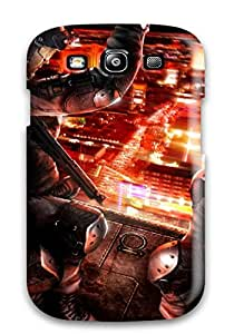 Snap-on Rainbow Sixvegas Six Video Game Other Case Cover Skin Compatible With Galaxy S3