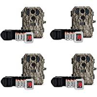 Stealth Cam 7MP Infrared Scouting Game Trail Camera w/ SD Card (4 Pack) | P18CMO