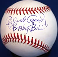 "Autographed Orlando Cepeda ""Baby Bull"" Official Major League Baseball"