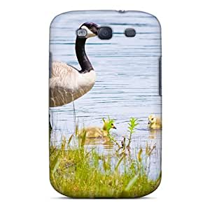 Protection Case For Galaxy S3 / Case Cover For Galaxy(ducklings Lake)