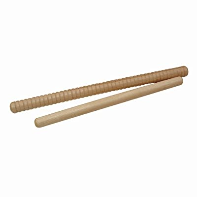 Wood Rhythm Sticks - 12 inches long: Musical Instruments