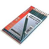 Paquete de 12 lápices de dibujo de diferentes graduaciones