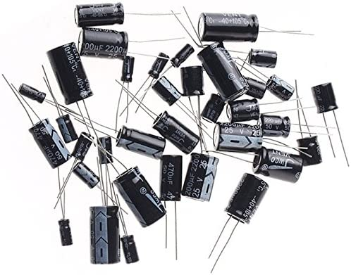 CAPACITOR N//P 2.2UF 35V Capacitors Aluminium Electrolytic-Pack of 25