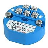 Transmisor Sensor eDealMax PT100 Temperatura, -50-100C Salida de 4-20 mA 24VDC