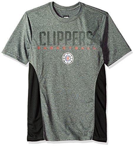 UNK NBA Men's T-Shirt Performance Short Sleeve Tee Shirt, Team Logo Gray – DiZiSports Store
