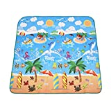 Extre Large Picnic Blanket Perfect for Outdoor Travel Blanket 71 * 78 Inch