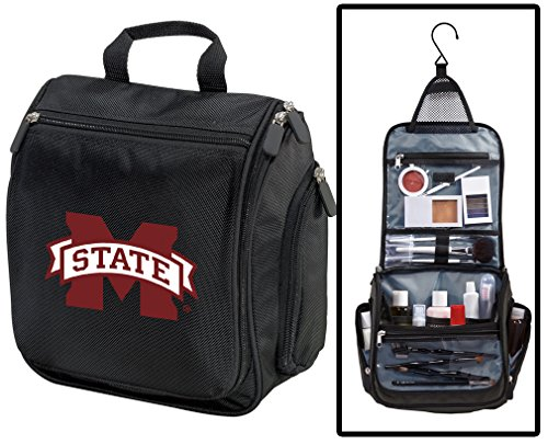 Mississippi State University Toiletry Bags Or Hanging MSU Bulldogs Shaving Kits -