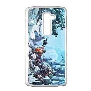 Borderlands 2 LG G2 Cell Phone Case White PSOC6002625636507
