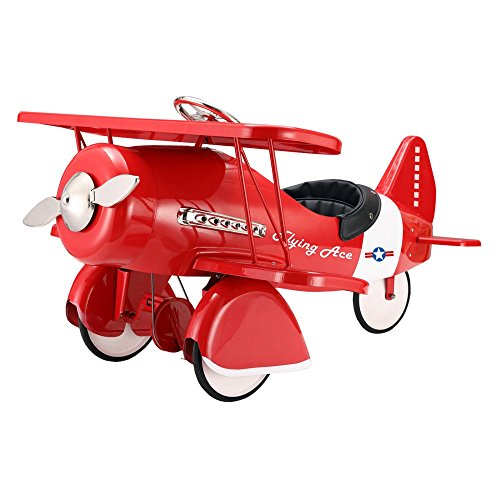 Kids Pedal Plane (Dexton Kids Plane Pedal Riding Toy -)