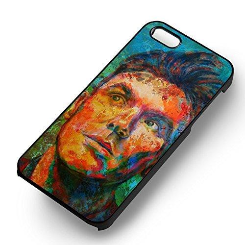 Cool Painting Art pour Coque Iphone 6 et Coque Iphone 6s Case (Noir Boîtier en plastique dur) L2F3EG