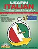 img - for Learn Italian the Fast and Fun Way with MP3 CD: The Activity Kit That Makes Learning a Language Quick and Easy! book / textbook / text book