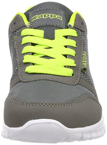Grau Adulte Kappa Baskets Grey 1633 Stay Lime Basses Mixte q1gXnIgw