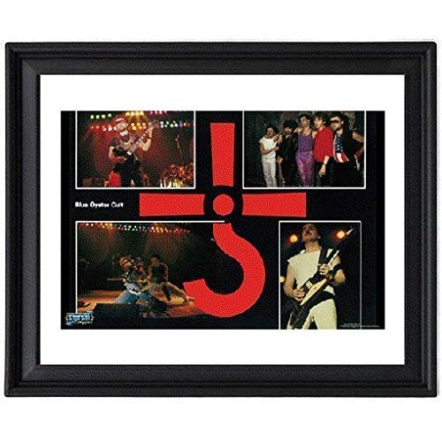 Blue Oyster Cult Live on Stage - Picture Frame 8x10 inches - Poster - - Oysters Live