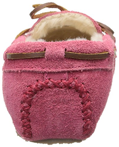 Suede Women's Minnetonka Slipper Cally Pink Hot dAqxzXq
