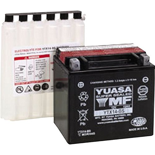 14 Bs Motorcycle Battery - 1