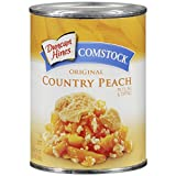 Comstock Original Country Peach Pie Filling or Topping 21oz. by Pinnacle Foods