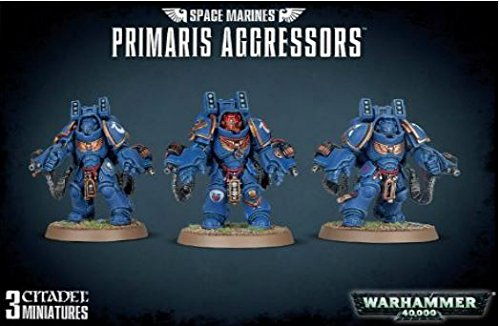 Games Workshop Jeux Atelier 99120101184 Space Marines Primaris Aggressors Plastique kit