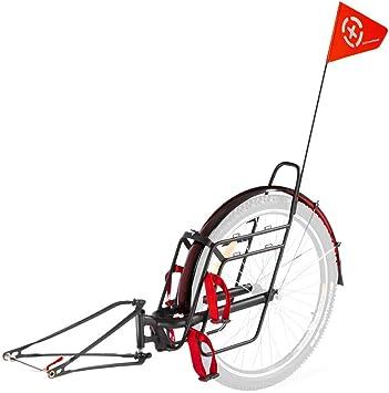 Extrawheel Voyager PRO - Remolque para bicicleta (28