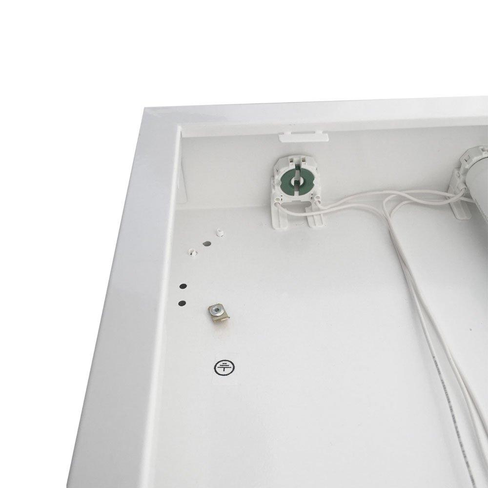 Plafoniera a LED 6400 K 2x22 W 2 x 3000 lm per soffitto lampada da ufficio 1500 mm luce diurna