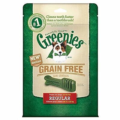 GREENIES Grain Free Dental Chews Dog Treats