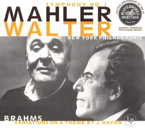 Mahler: Symphony No. 1 / Brahms: Variations on a Theme By Haydn