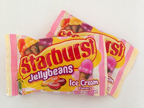 Starburst Jellybeans Ice Cream Flavors, 2 oz bag