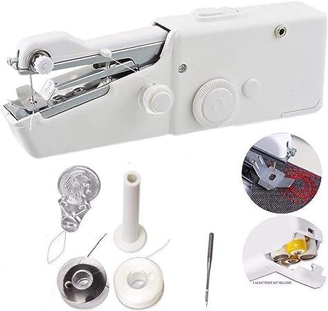Mini máquina de coser de mano portátil para el hogar Puntada ...