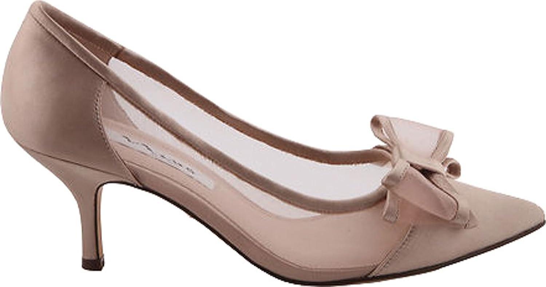 Womens Klassik Pump Closed Toe Heels Bianco dn1s4X