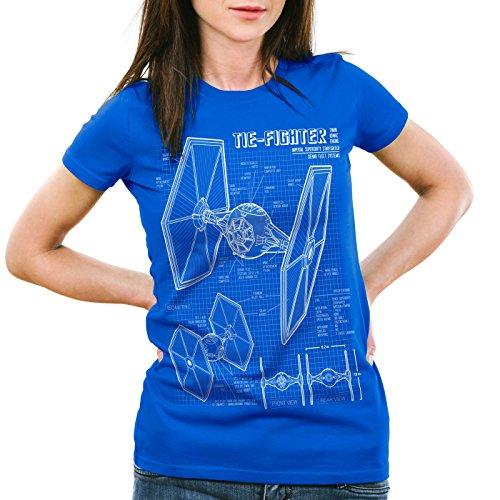 Ships luchador camiseta Hormiga mujer azul Tie Cwzxp