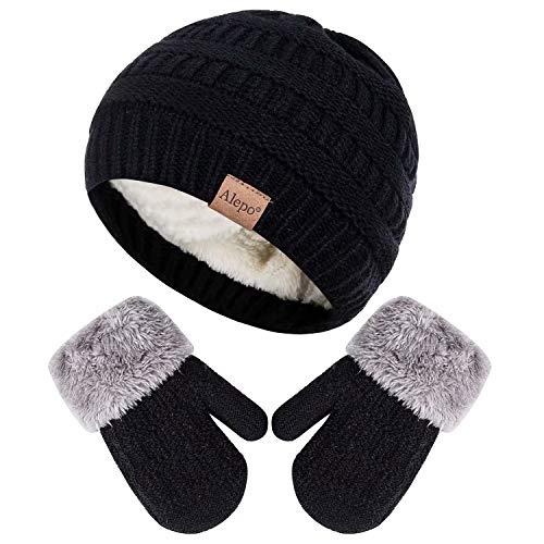 Winter Mittens Gloves Beanie Hat...