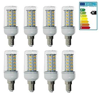 10 x E14 LED SMD Birne Leuchtmittel Mais Lampe Licht Glühbirne Leuchte 7W 10W