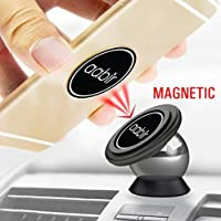 Aabir Phone Holder for Car - Car Phone Mount – Magnetic Phone Car Mount - For Universal Use in Cars, Rvs, Boats, Trucks, Dash holder - Fits All iPhone, Samsung & Android Phone - Uber Lyft accessories