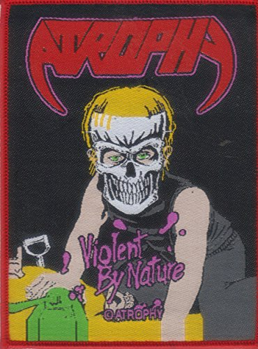 ATROPHY-VIOLENT BY NATURE-WOVEN PATCH