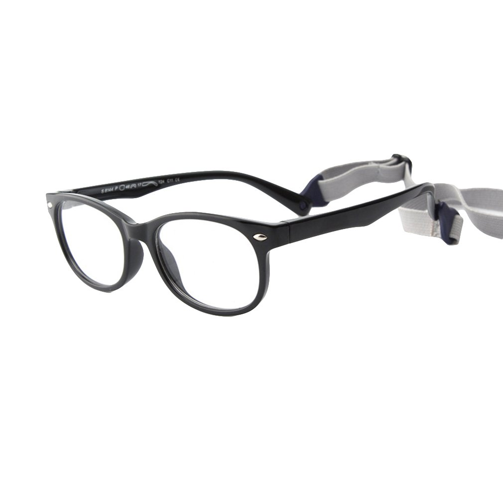 Juleya Bambini Occhiali Telaio - Silicone - Occhiali per bambini Occhiali da lettura e occhiali da vista retrò per ragazze ragazzi - 180710ETYJJ08 X180710ETYJJ0801-J