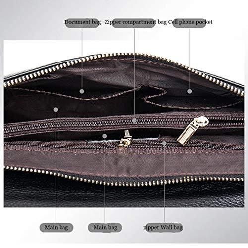 Sacs Épaule De Sacs Sacs Black Capacité YANXH À Soirée Main Mode De De Femmes Chaîne Cuir Main en Sacs d'embrayage Strap Grande Bureau À wTx6zX