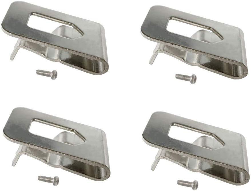 Replacement Belt Hook Clip for Dewalt N268241 Fit for 20V Power Tools DCD980 DCD985 (4Packs)