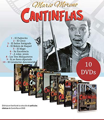 Colección 10 DVDs Cantinflas. A Volar, El bolero de Raquel ...