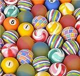 Rhode Island Novelty 38MM 1.50 Inch Assorted Bouncy Balls, 50 Balls per Order