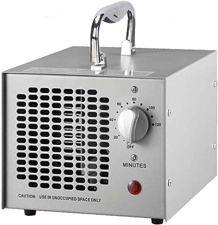 ELTON Generador de ozono Comercial 5000mg Potente Limpiador portátil Industrial O3 Purificador de Aire Desodorizador Esterilizador: Amazon.es: Hogar