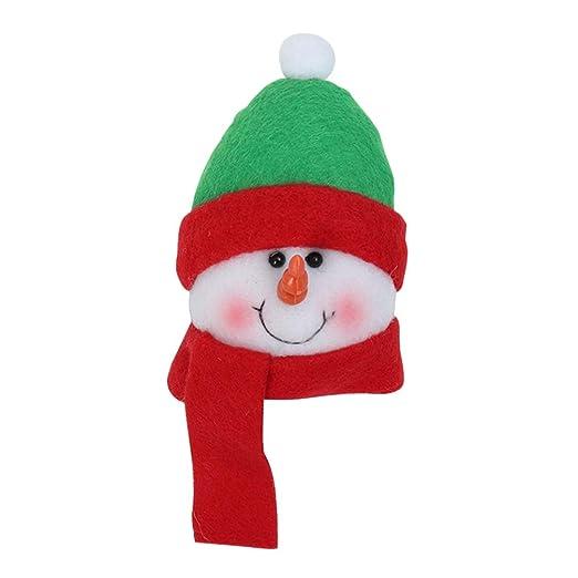 Amosfun imán de nevera de navidad muñeco de nieve decorativa ...