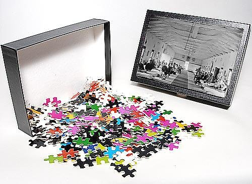 Photo Jigsaw Puzzle of Washington, DC Patients in Ward K of Armory Square Hospital