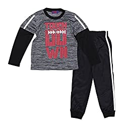 Victory League Boys, Babies & Toddlers Pant Set With Sports Print