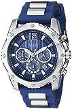 GUESS Men's U0167G3 Blue Bold Move Chronograph Sport Watch