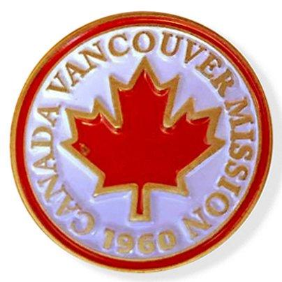 LDS Canada Vancouver Mission Commemorative Lapel ()