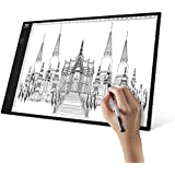 A4 Light Box, SAVFY Ultra-thin Portable USB Powered LED Artcraft Tracer Light Pad Copy Board for Artists,Drawing, Sketching, Animation