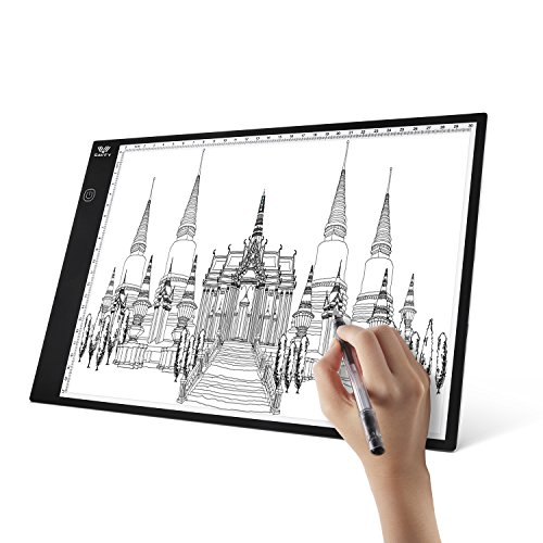 A4 Light Box, SAVFY Ultra-Thin Portable USB Powered LED Artcraft Tracer Light Pad Copy Board for Artists,Drawing, Sketching, Animation by SAVFY