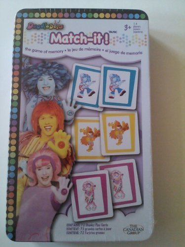 Doodlebops Match It Memory Game by The Canadian Group ()
